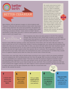 BETTER CESAREAN